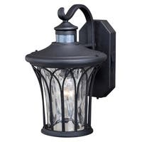 "Vaxcel Abigail Dualux® 9"" Outdoor Wall Light Textured Black"