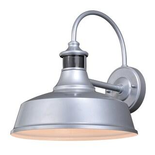 "Vaxcel Dorado Dualux® 12"" Outdoor Wall Light Satin Silver"