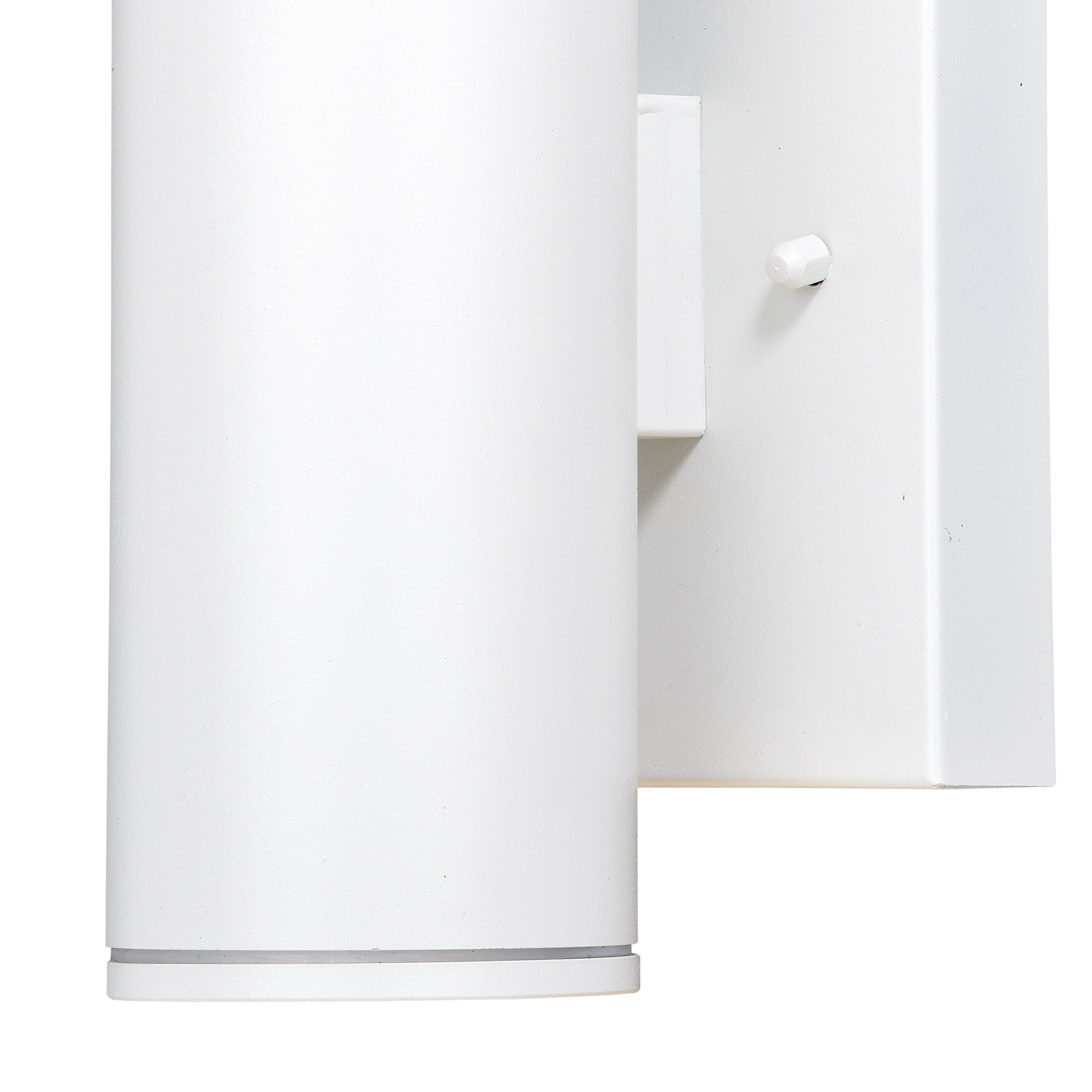 Shop Black Friday Deals On Chiasso White Led Motion Sensor Dusk To Dawn Dark Sky Outdoor Wall Light 4 5 In W X 9 75 In H X 4 75 In D Overstock 20877047