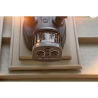 Vaxcel Tau Dualux® 3000K LED Security Light - Bronze