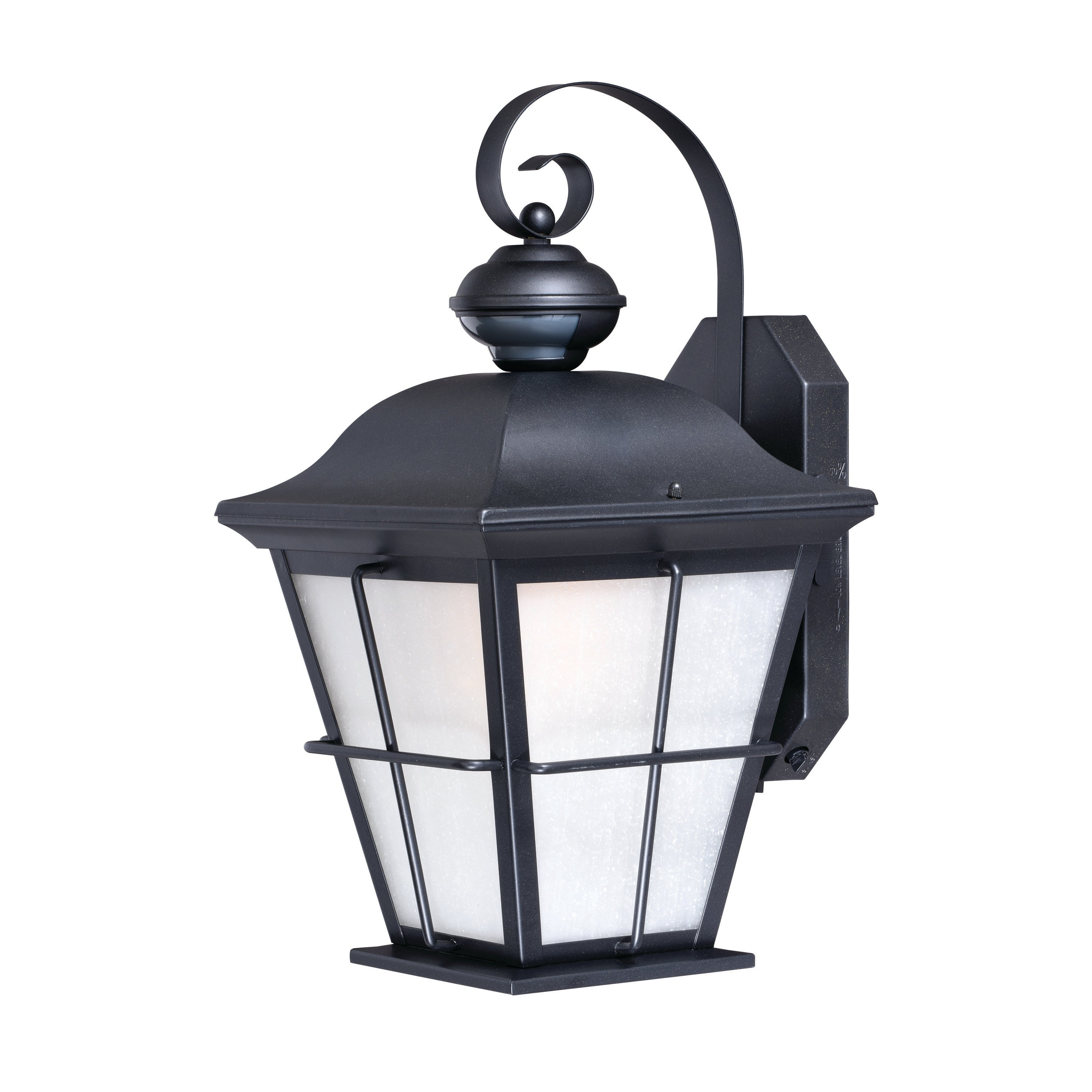 Image of: Shop New Haven Bronze Motion Sensor Dusk To Dawn Outdoor Wall Light 9 In W X 18 75 In H X 10 25 In D Overstock 20877071
