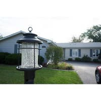 "Vaxcel Melbourne LED 8"" Outdoor Post Light Oil Rubbed Bronze"