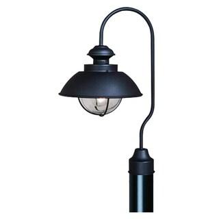"Vaxcel Harwich 10"" Outdoor Post Light Textured Black"