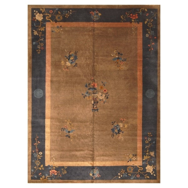 f3355b5390c2 Handmade Herat Oriental Chinese Hand-knotted Antique Art Deco 1920  x27 s  Wool