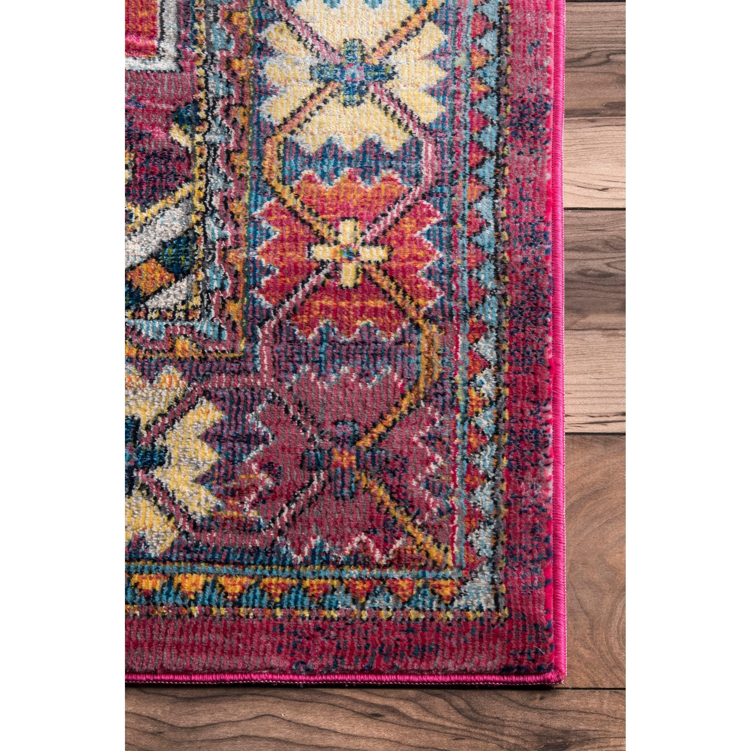 Pink Aztec Rug Uniquely Modern Rugs