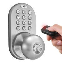 Digital Door Lock  Keyless Entry via Remote Control and Keypad