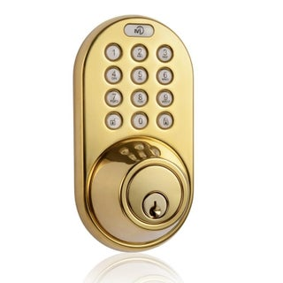 Electronic Keyless Entry Touchpad Deadbolt Door Lock