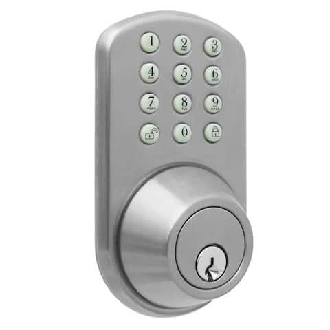 Digital Deadbolt Door Lock with Electronic Keypad