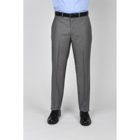 Kenneth Cole Reaction Light Grey Basketweave Suit Separate Pant