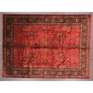 "Sarouk design Hand-knotted wool rug 8'10"" x 12'"