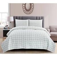 Wonder Home Shangrila 3PC Cotton Quilt set