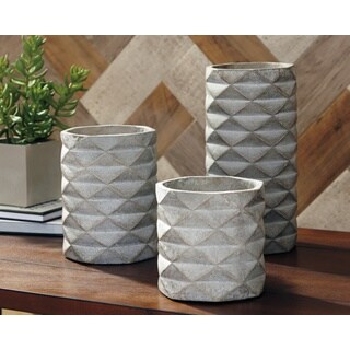 Signature Design by Ashley Charlot Set of 3 Vases