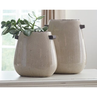 Signature Design by Ashley Diah Set of 2 Vases