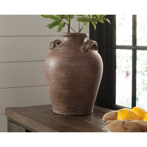 Diandra Casual Brown Vase