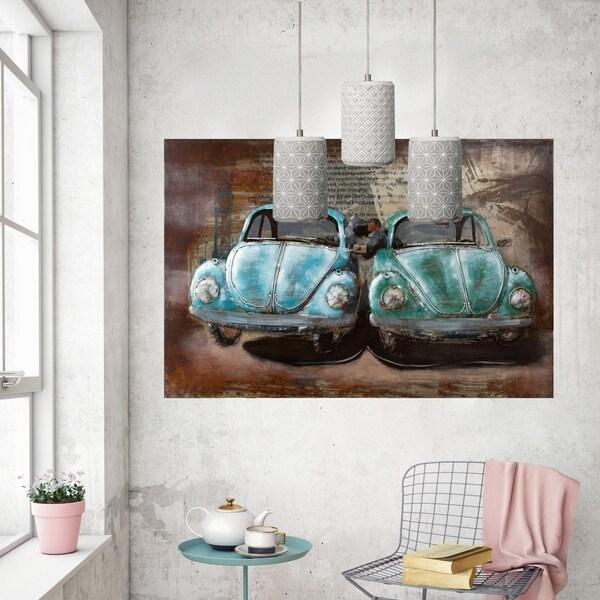 Varaluz Pottery Perfect 1-light Chrome with Concrete Jewel Mini Pendant