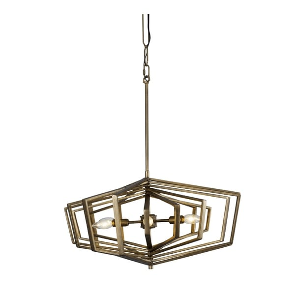 Varaluz Gymnast 6-light Havana Gold Pendant