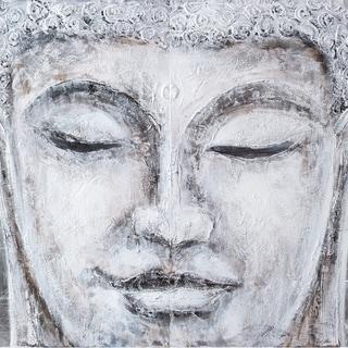 Buddha 2-Panel Painted Wall Art