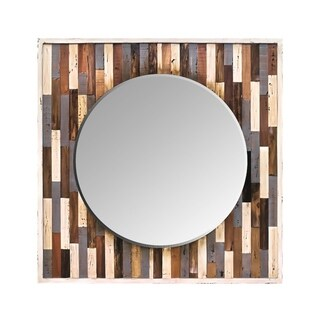 Varaluz Casa Country Pine Reclaimed Frame Mirror