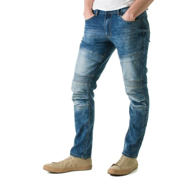 e4500f963406 Refinery Republic Men's Solid Black Slim Straight Fit Denim Jeans
