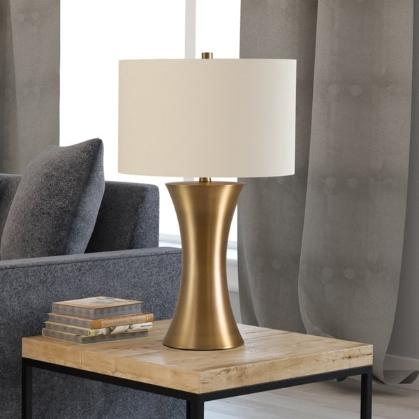 Quint Luxe Table Lamp in Gold Antique Brass Finish
