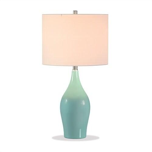 Niklas table lamp in teal