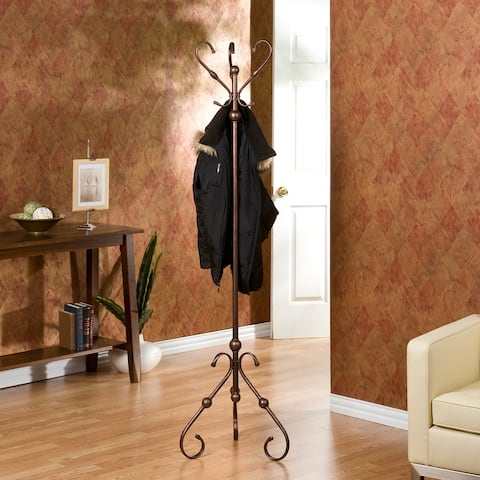 Gracewood Hollow Alleyn Antique Bronze Tree Coat Rack