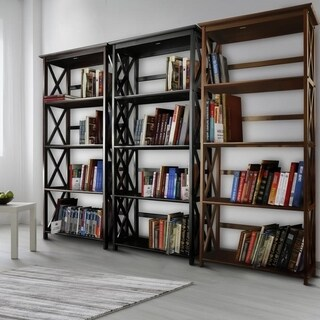 The Gray Barn La Vida 5-tier Bookcase