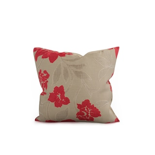 Copper Grove Anamalai Decorative Flower Throw Pillow