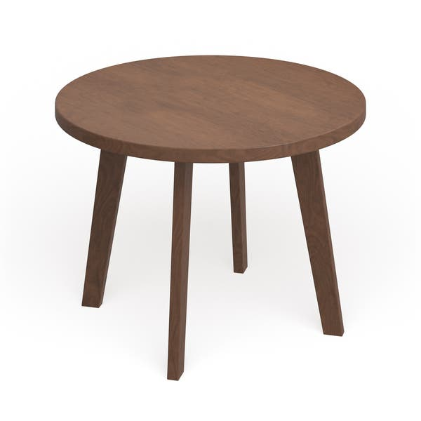 Awe Inspiring Shop Genuine Walnut 24 Inch Round Coffee Table Free Machost Co Dining Chair Design Ideas Machostcouk