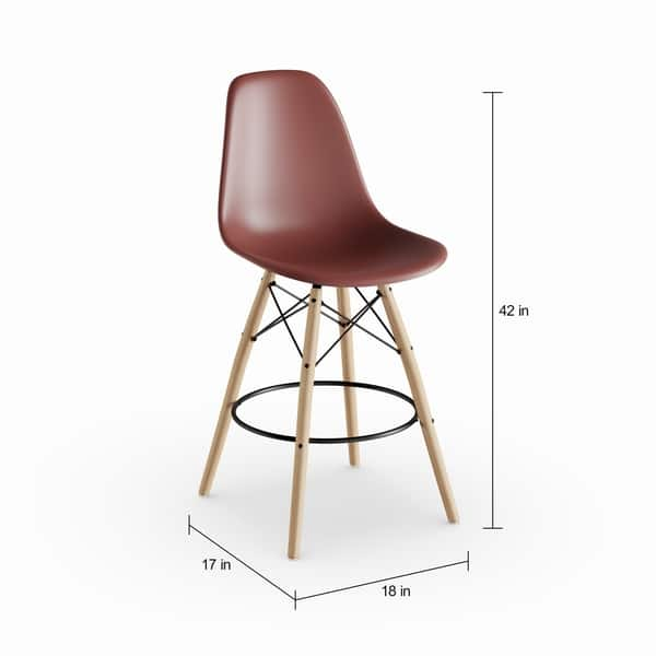 Prime Shop Carson Carrington Leirvik 26 Inch Retro Counter Height Frankydiablos Diy Chair Ideas Frankydiabloscom