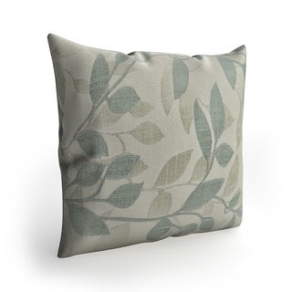 Copper Grove Anamalai 22-inch Leaves Pillow Cover