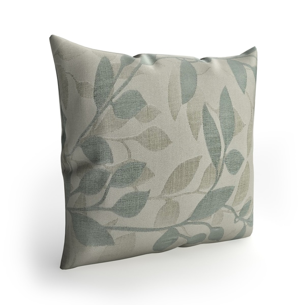 Copper Grove Anamalai 22-inch Leaves Pillow Cover. Opens flyout.
