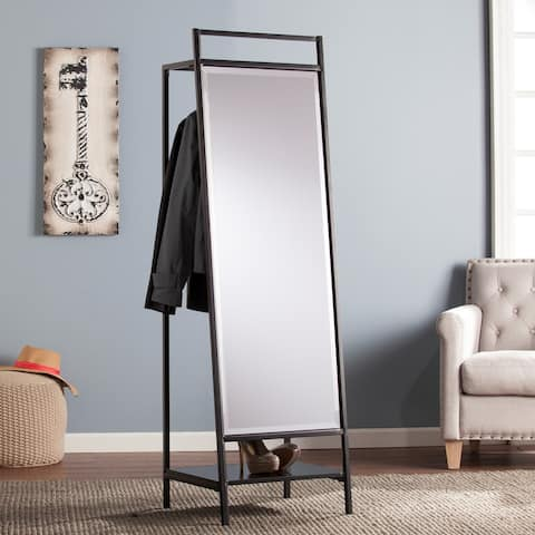 Strick & Bolton Mei Standing Mirror and Coat Rack