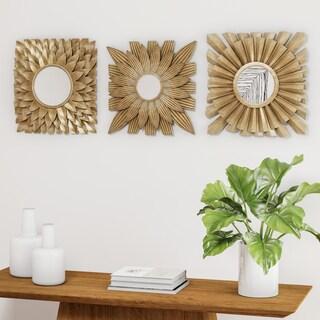 Palm Canyon Firestone 3-piece Decorative Mirror Set