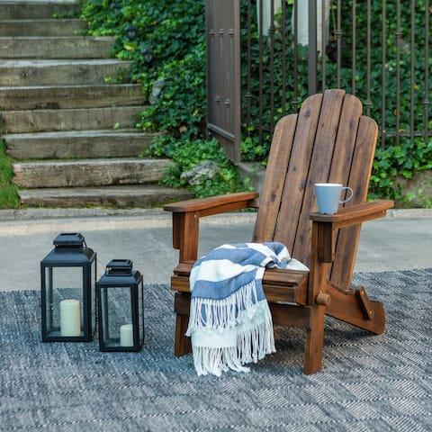 Surfside Acacia Patio Chair - Dark Brown by Havenside Home
