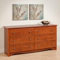 Copper Grove Periyar Cherry 6-drawer Dresser