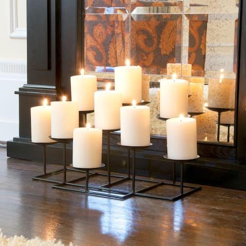 Copper Grove Bugleweed 9-candle Candelabra