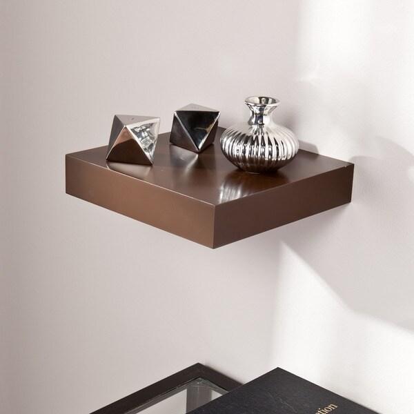 Clay Alder Home Hi-Line 10-inch Espresso Floating Shelf