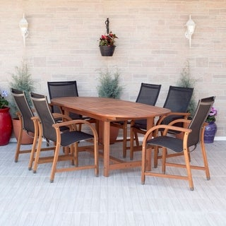 Havenside Home Tottenville 7-piece Weather Resistant Oval Dining Set