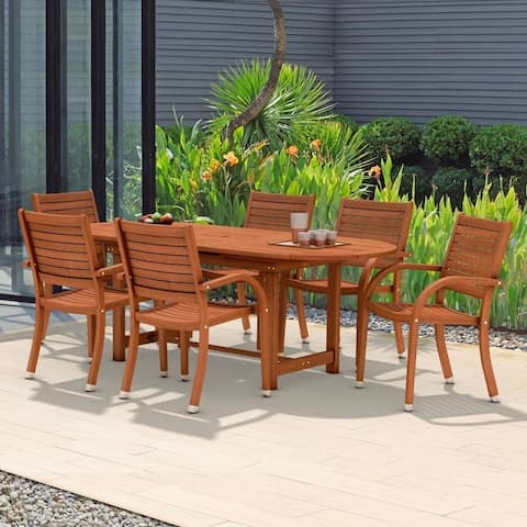Tottenville 7-piece Oval Dining Set by Havenside Home