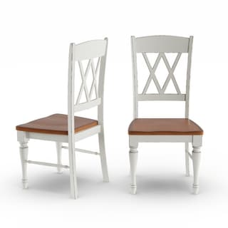 The Gray Barn Box Hill Double X-back Dining Chairs