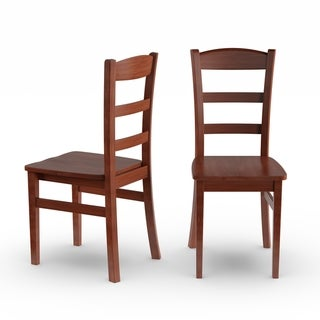 Copper Grove Byng Ladder Back Dining Chairs (Set of 2)