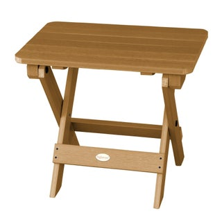 Oliver & James Jacques Eco-friendly Synthetic Wood Folding Side Table
