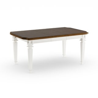 "Gracewood Hollow Hogan Rectangular White Dining Table - 30.25""h x 50""l x 36.25""d"