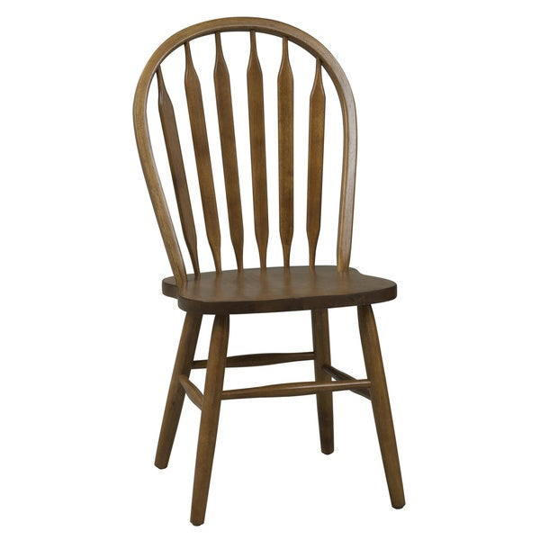 Copper Grove Buckhill Traditional Oak Arrowback Dining Chair (Set of 2)
