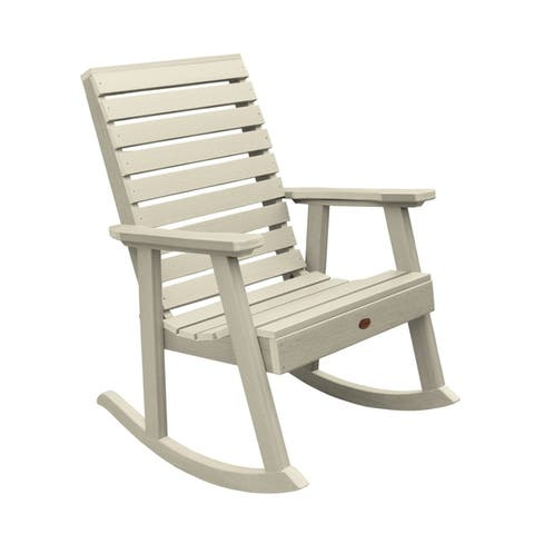 Mandalay Eco-friendly Synthetic Wood Rocking Chair by Havenside Home