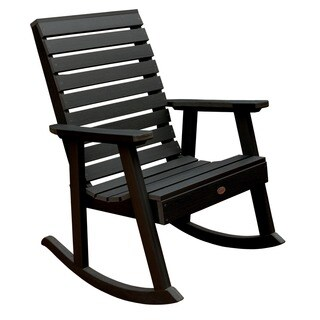Highwood Eco-friendly Synthetic Wood Weatherly Rocking Chair