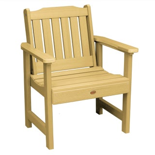 Oliver & James Jacques Eco-friendly Marine-grade Synthetic Wood Garden Chair (Option: sandstone)