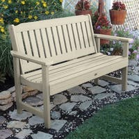 Havenside Home Mandalay 4-foot Eco-friendly Synthetic Wood Garden Bench