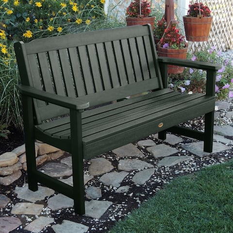 Mandalay 5-foot Eco-friendly Synthetic Wood Garden Bench by Havenside Home